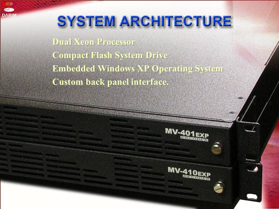 Compact Flash System Drive Embedded Windows XP Operating System