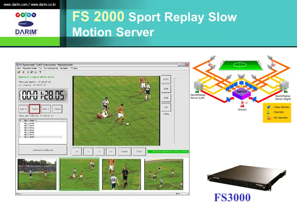 FS 2000 Sport Replay Slow Motion Server