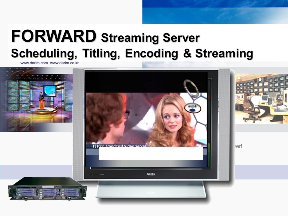 FORWARD Streaming Server