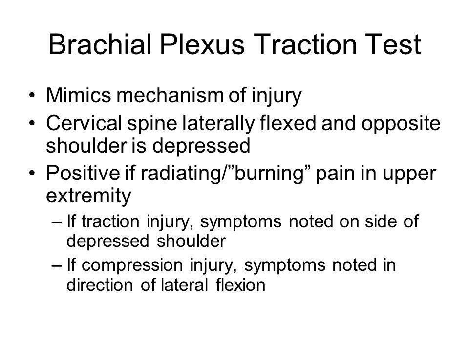 Brachial Plexus Traction Test