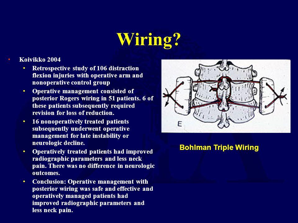Wiring Bohlman Triple Wiring Koivikko 2004