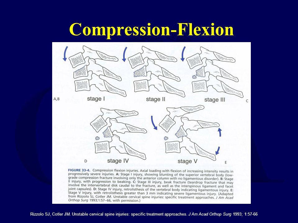 Compression-Flexion Rizzolo SJ, Cotler JM.