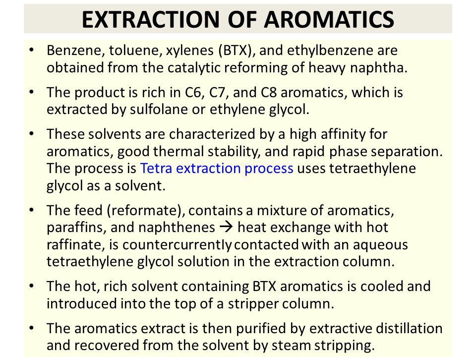 EXTRACTION OF AROMATICS