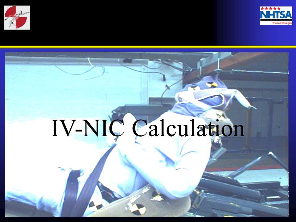 IV-NIC Calculation