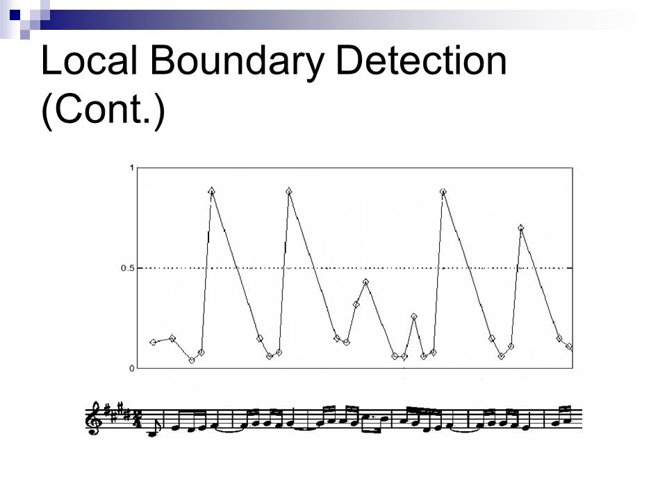 Local Boundary Detection (Cont.)