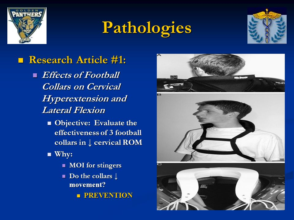 Pathologies Research Article #1: