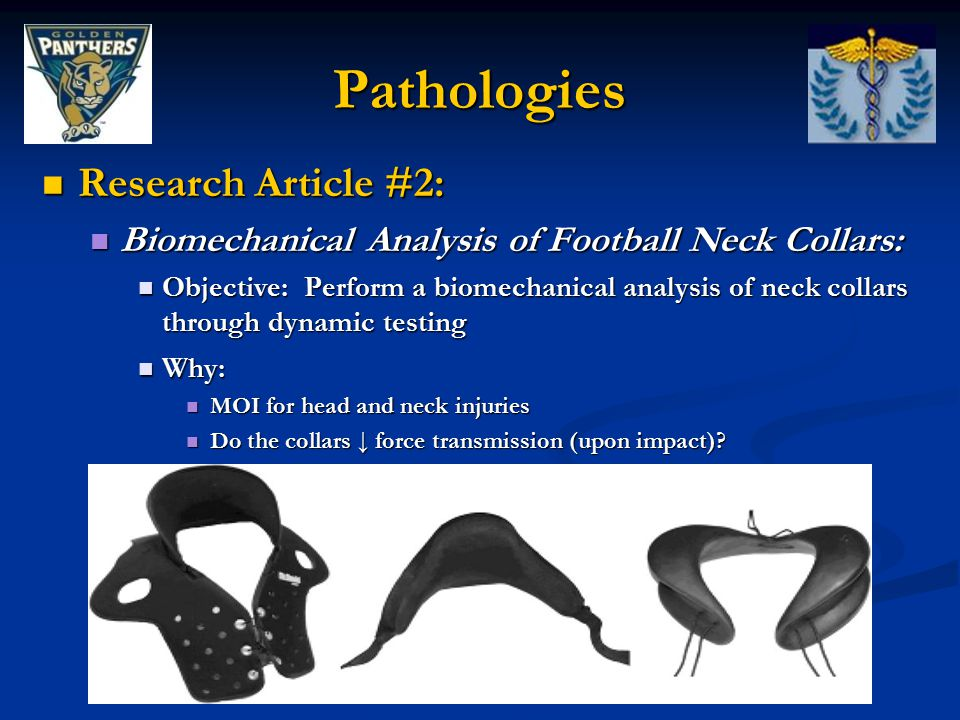 Pathologies Research Article #2: