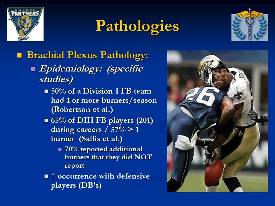 Pathologies Brachial Plexus Pathology: