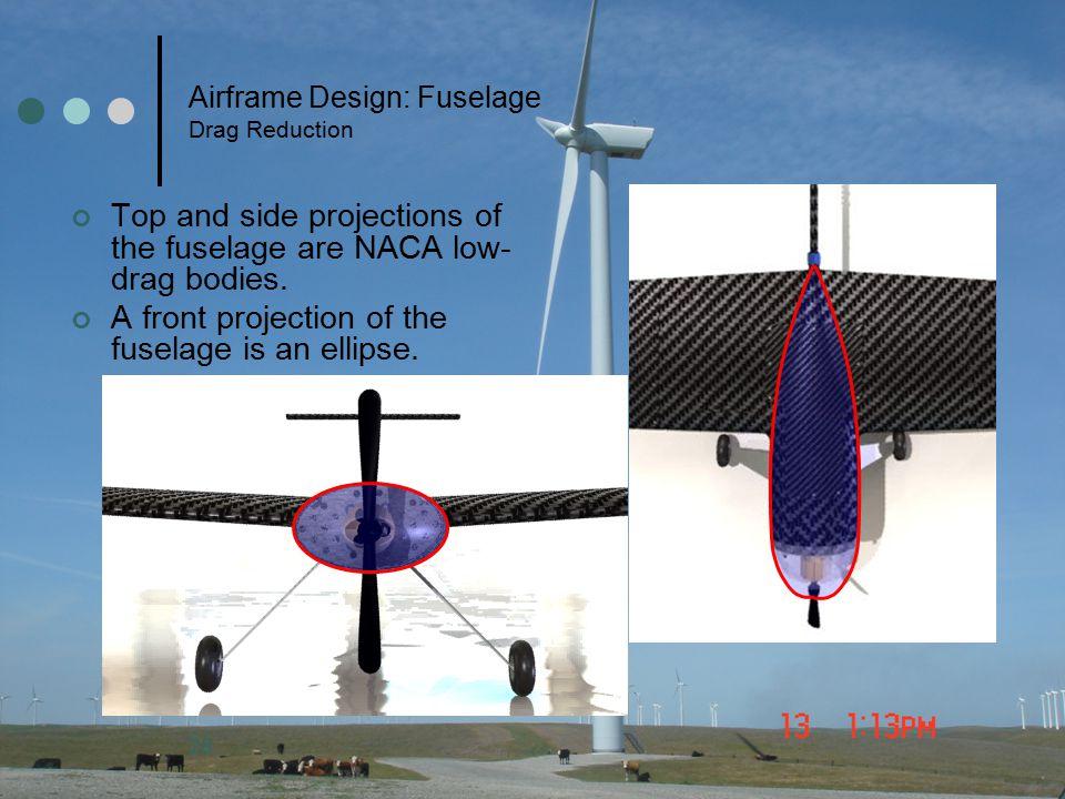 Airframe Design: Fuselage Drag Reduction