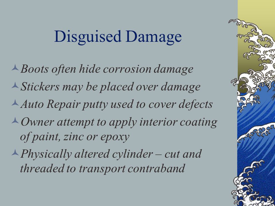 Disguised Damage Boots often hide corrosion damage