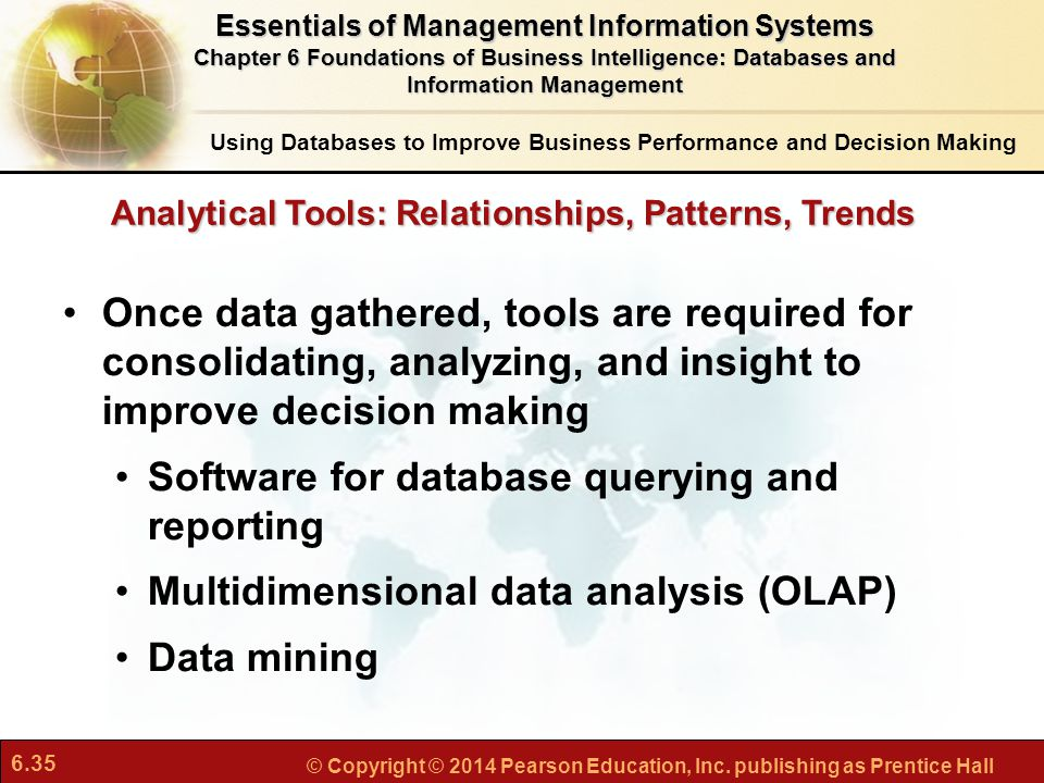 Software for database querying and reporting