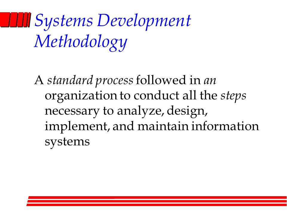 Systems Development Methodology