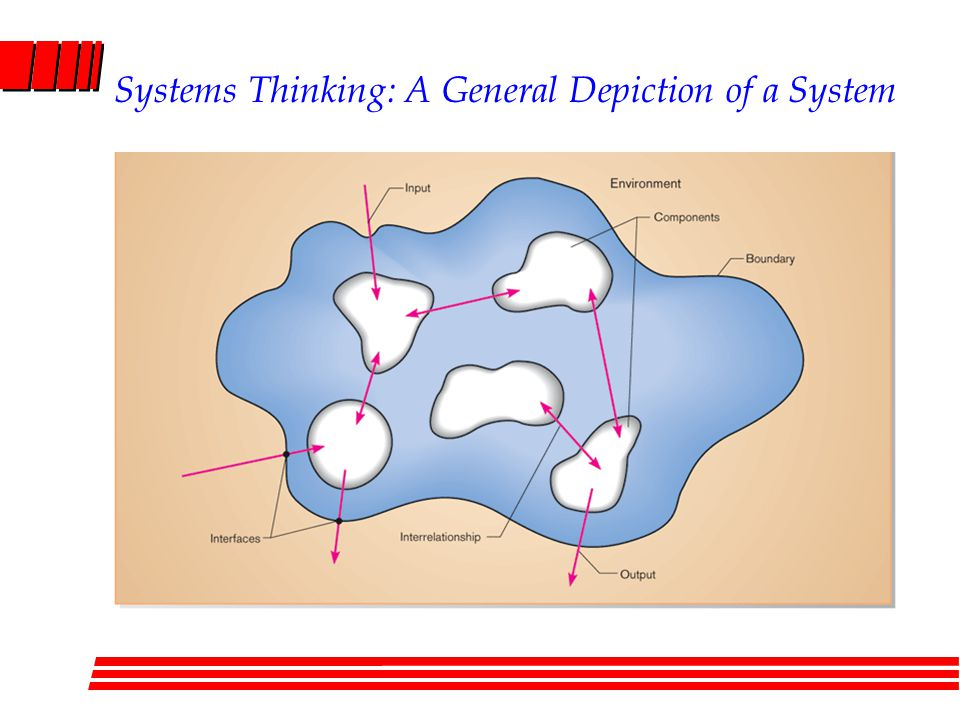 Systems Thinking: A General Depiction of a System