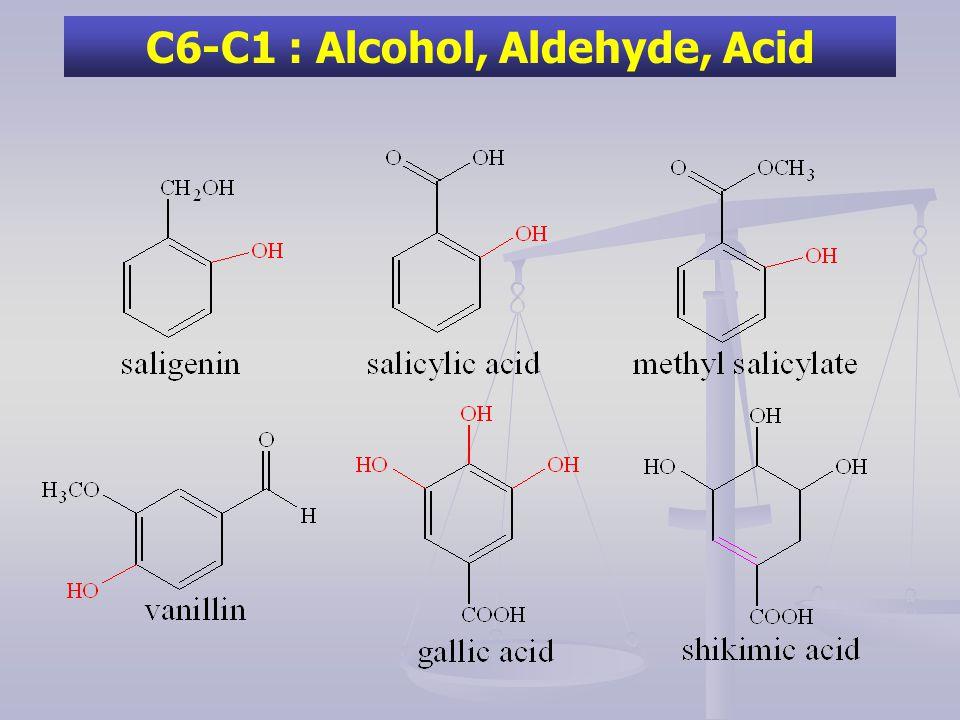 C6-C1 : Alcohol, Aldehyde, Acid