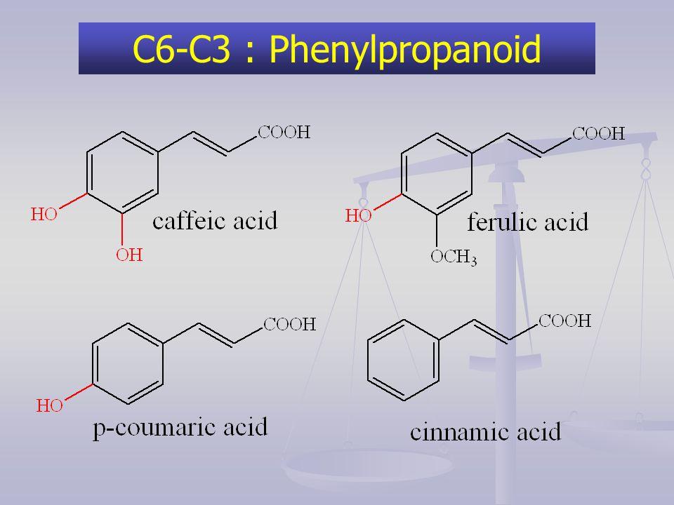 C6-C3 : Phenylpropanoid