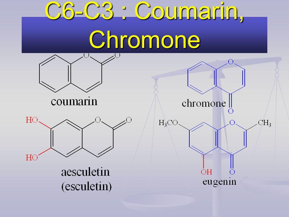 C6-C3 : Coumarin, Chromone