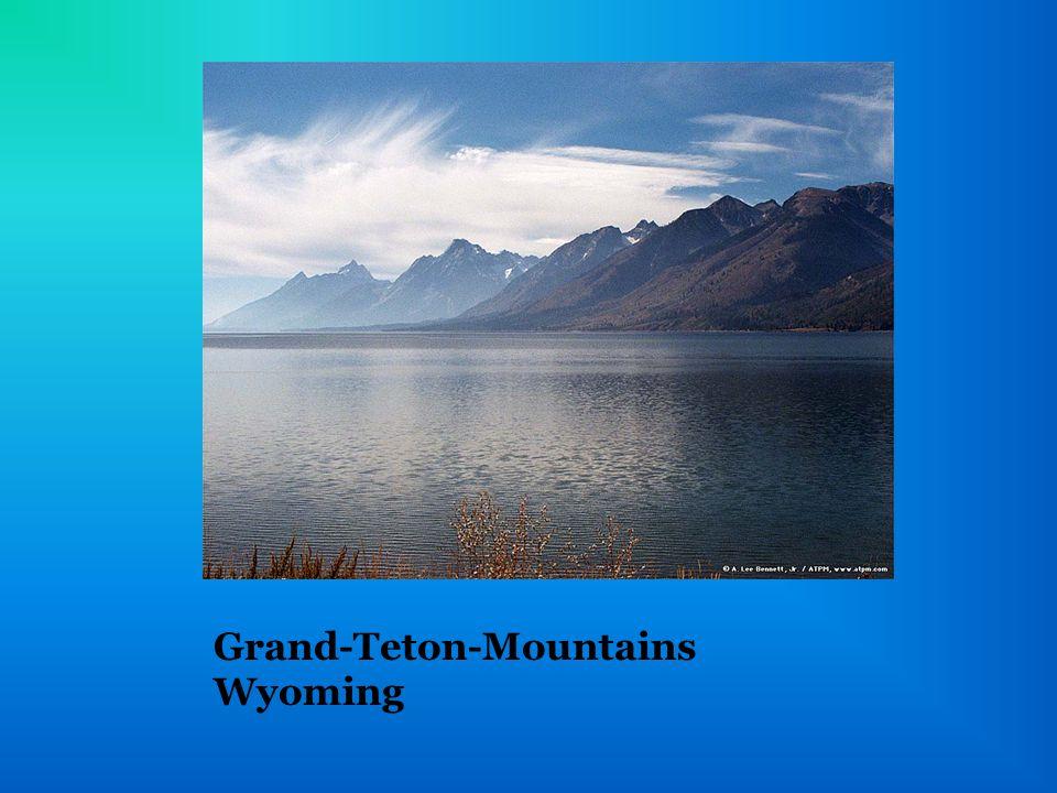Grand-Teton-Mountains