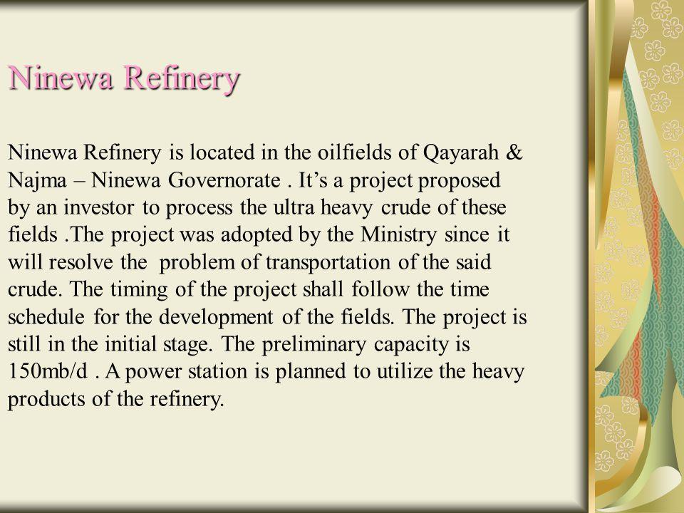 Ninewa Refinery
