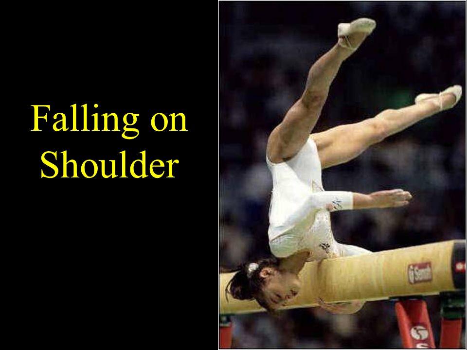 Falling on Shoulder