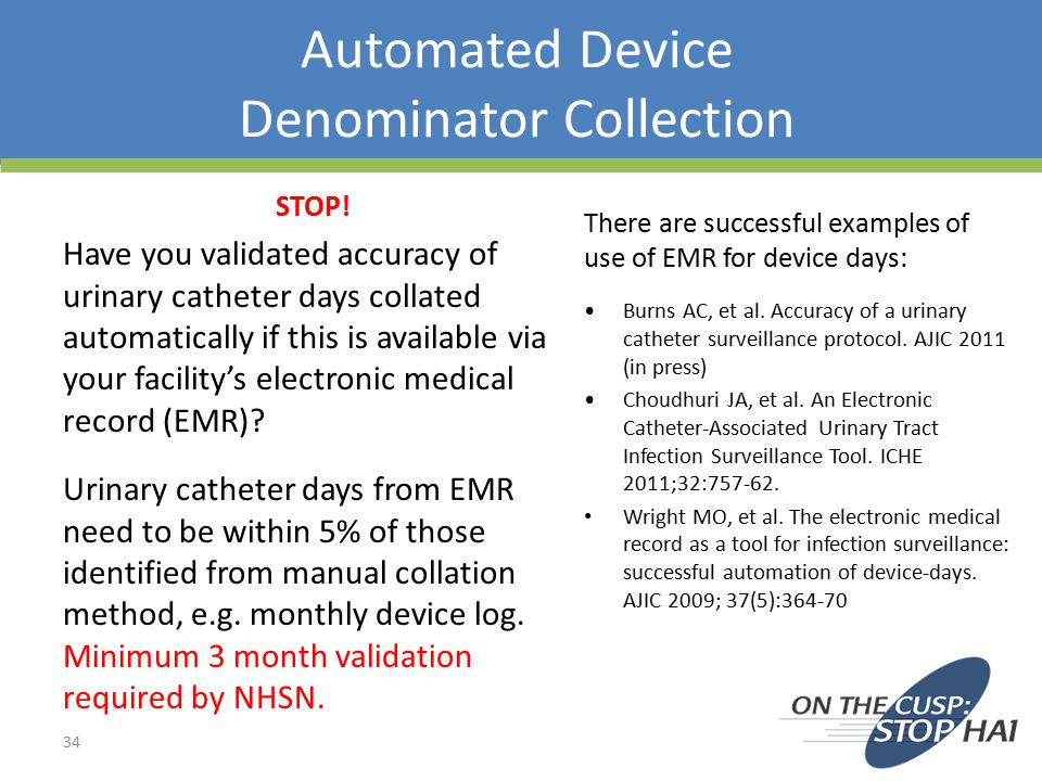 Automated Device Denominator Collection