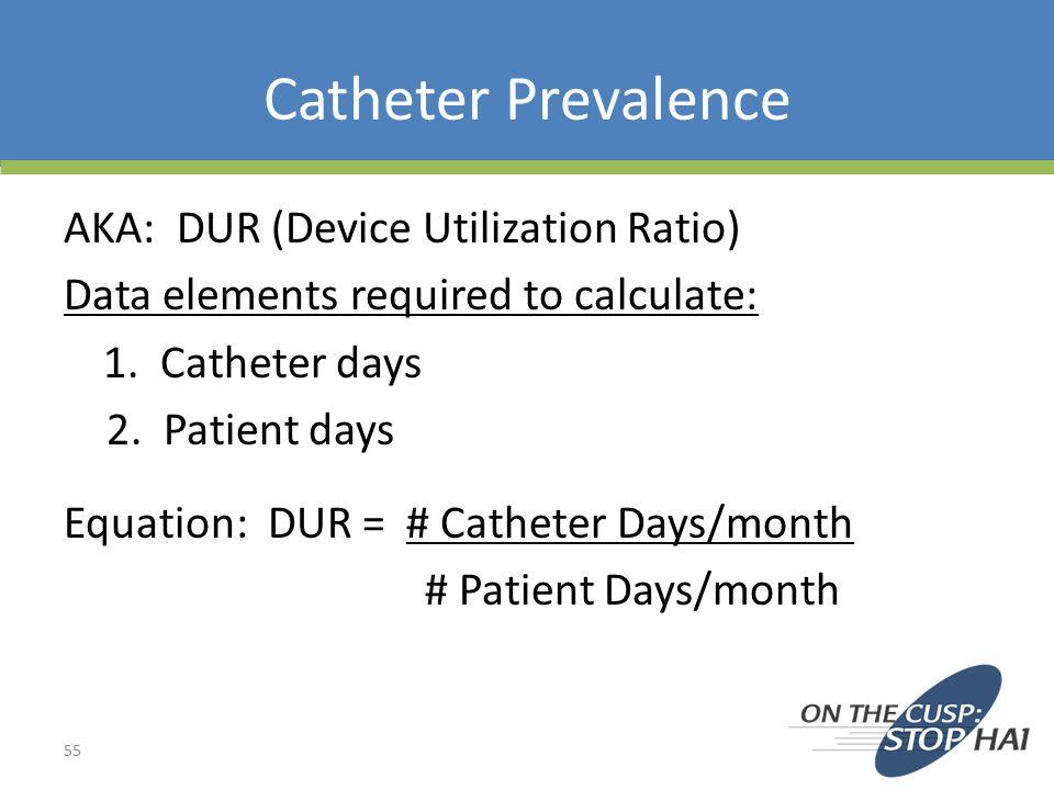 Catheter Prevalence