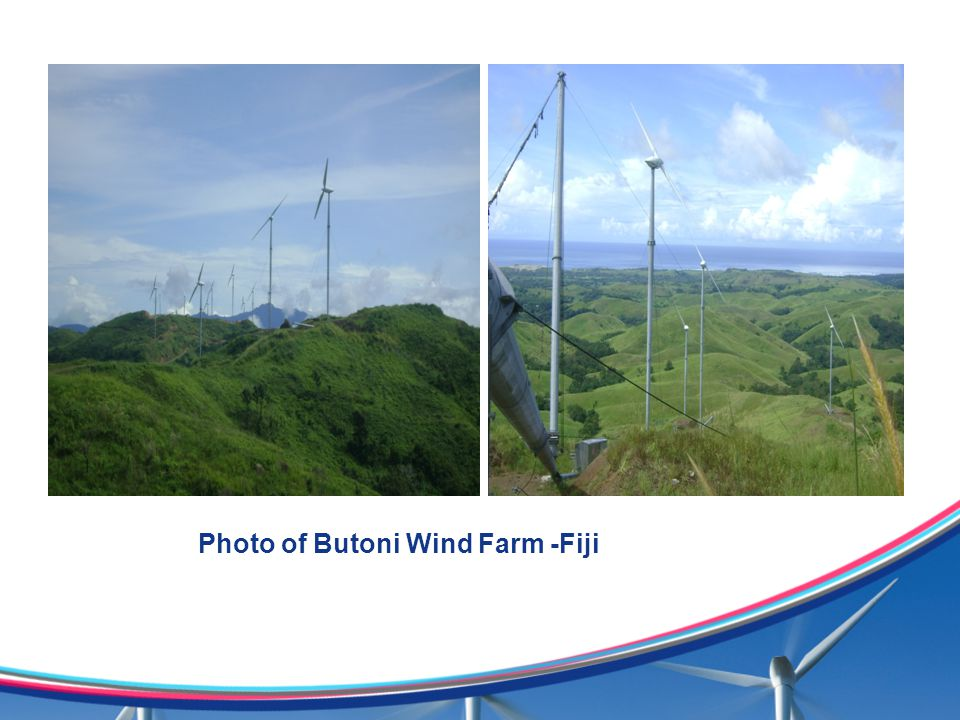 Photo of Butoni Wind Farm -Fiji