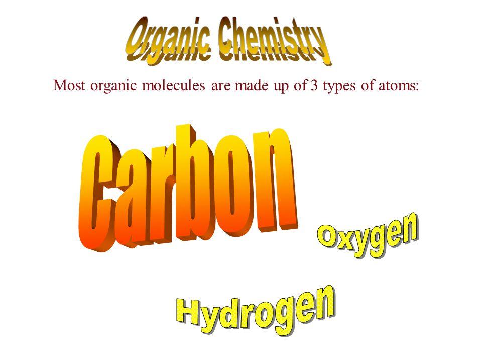 Organic Chemistry Carbon Oxygen Hydrogen