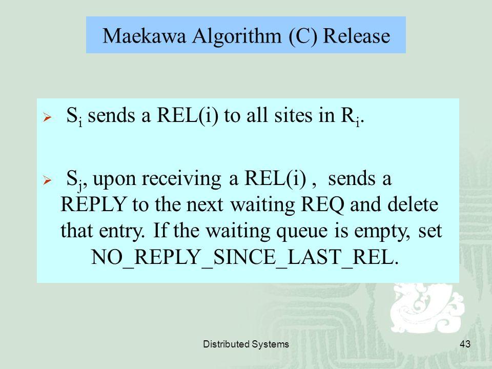 Maekawa Algorithm (C) Release