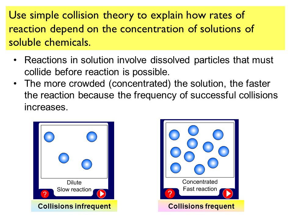 Collisions infrequent