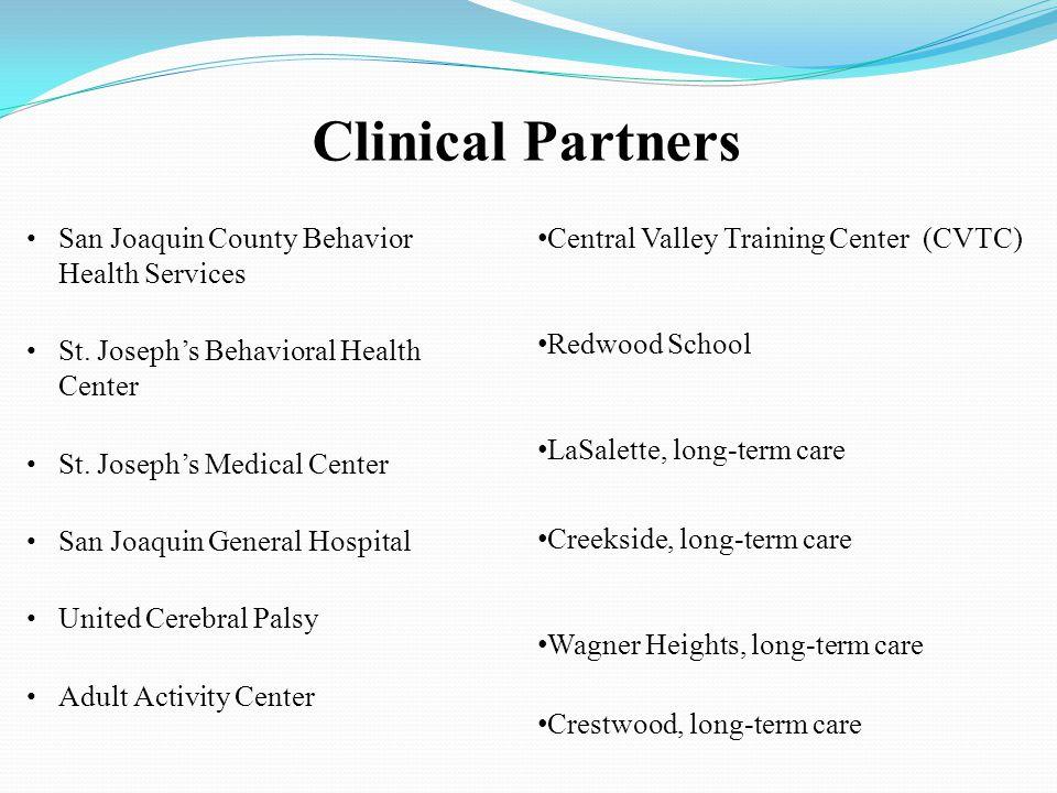 Clinical Partners San Joaquin County Behavior Health Services