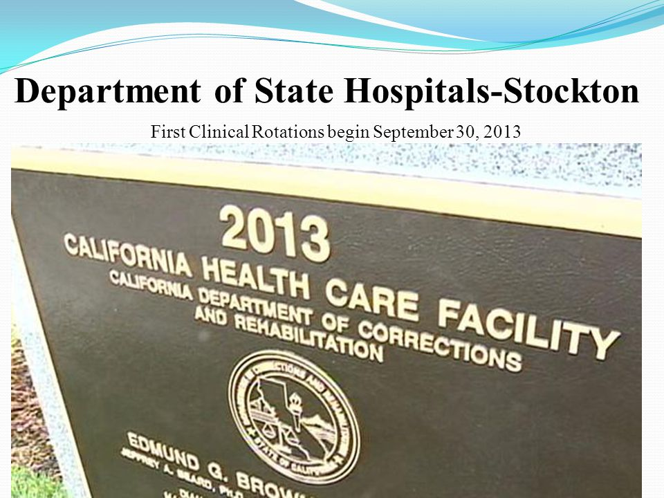 Department of State Hospitals-Stockton