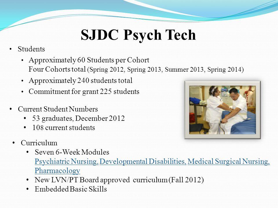 SJDC Psych Tech Students