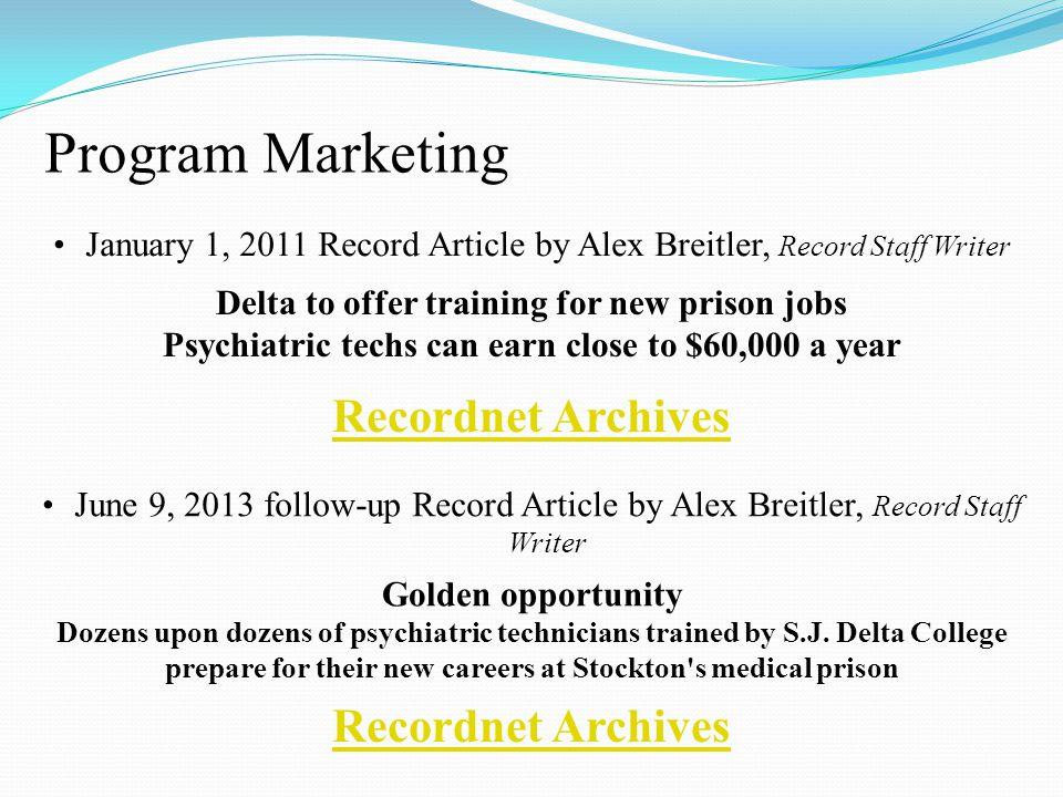 Program Marketing Recordnet Archives Recordnet Archives