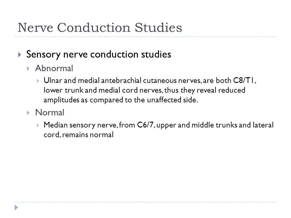Nerve Conduction Studies