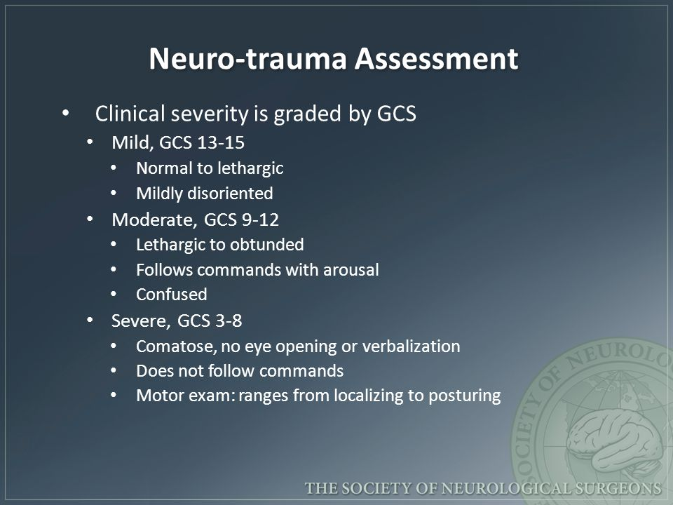 Neuro-trauma Assessment