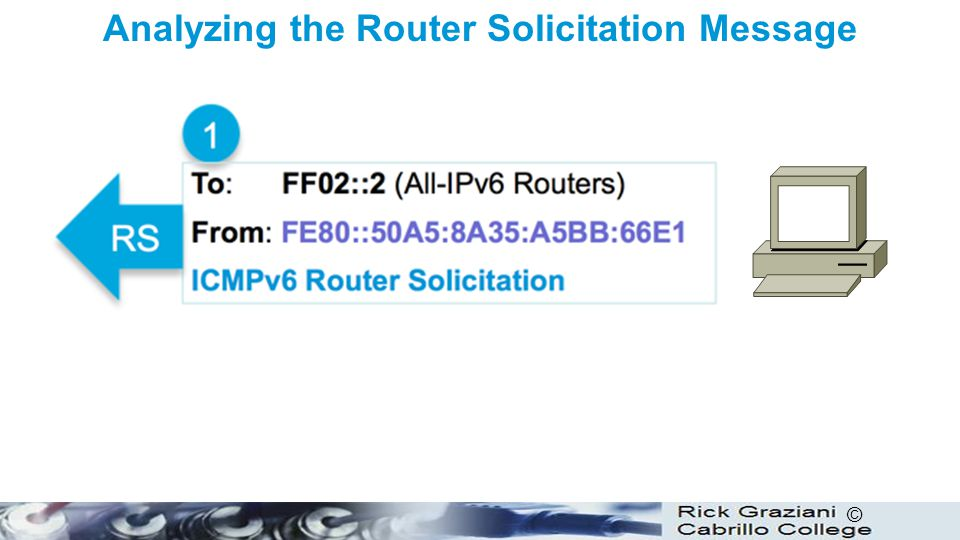 Analyzing the Router Solicitation Message
