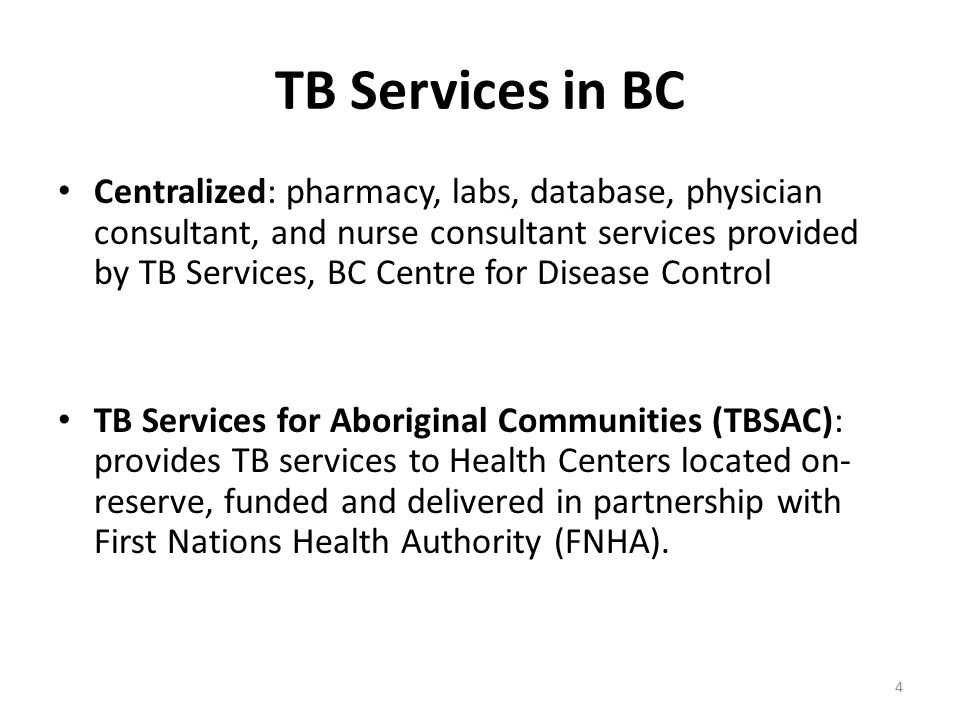 TB Services in BC