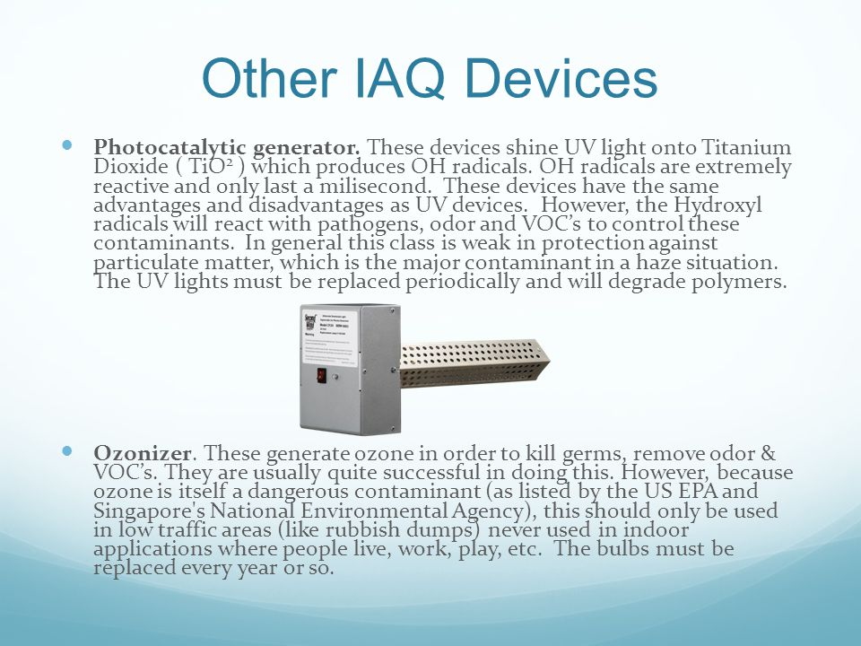 Other IAQ Devices