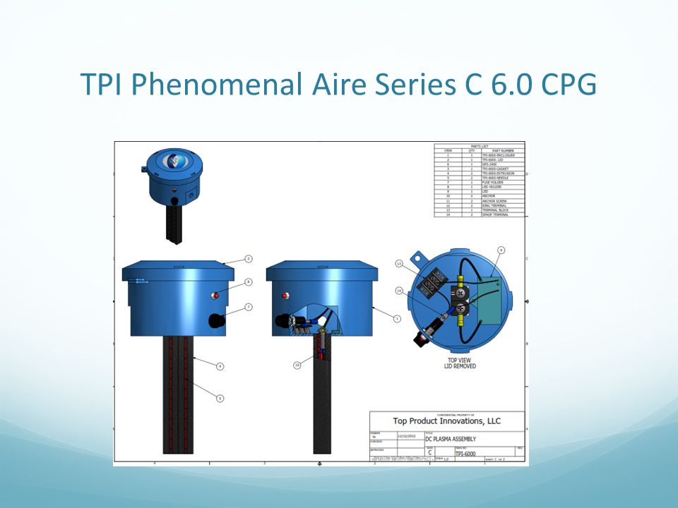 TPI Phenomenal Aire Series C 6.0 CPG