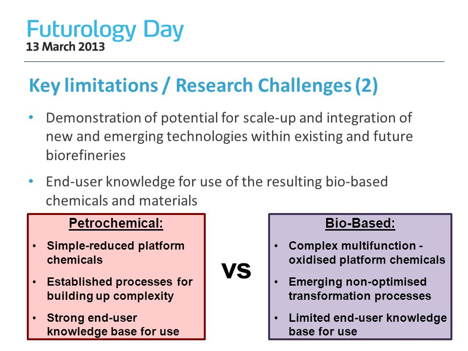 Key limitations / Research Challenges (2)