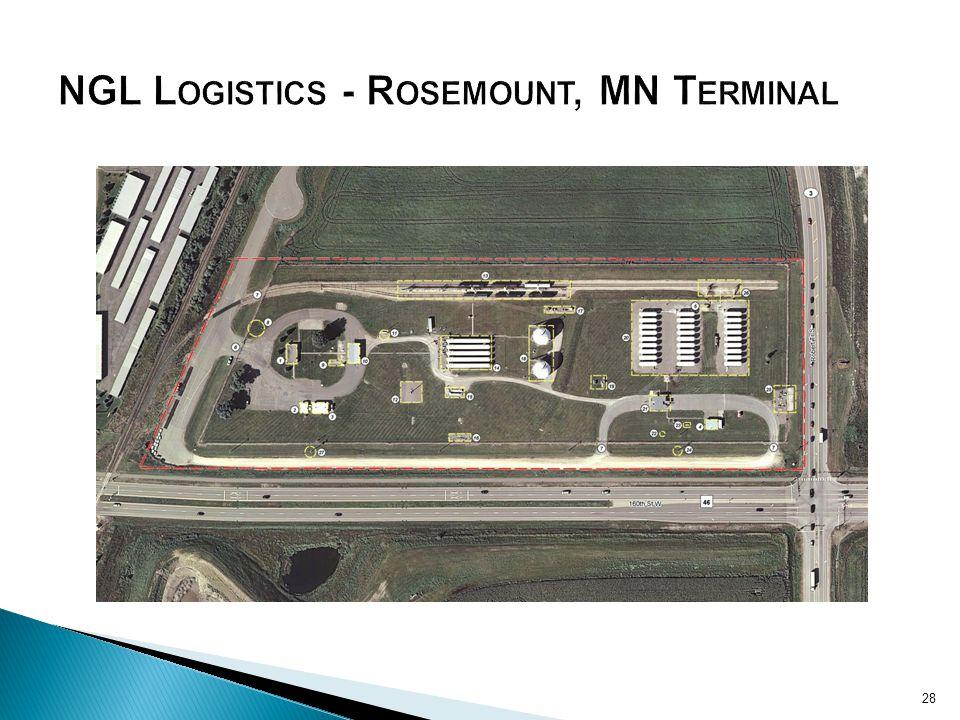 NGL Logistics - Rosemount, MN Terminal