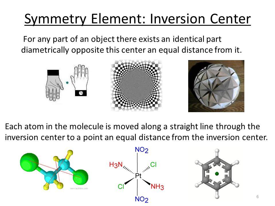 Symmetry Element: Inversion Center