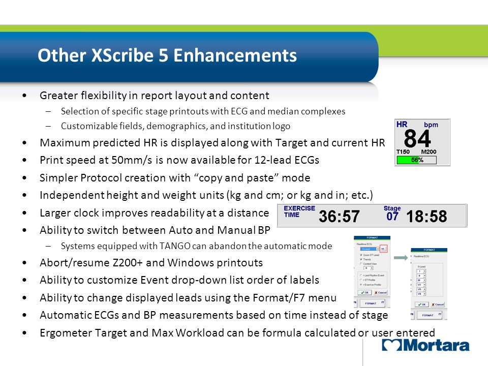 Other XScribe 5 Enhancements