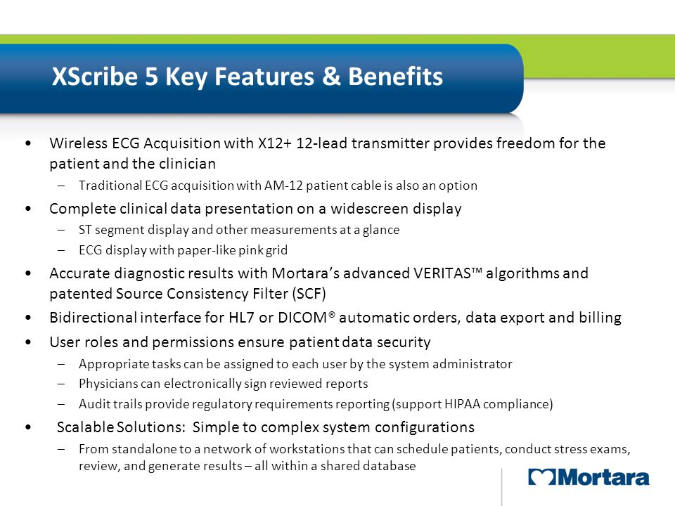 XScribe 5 Key Features & Benefits