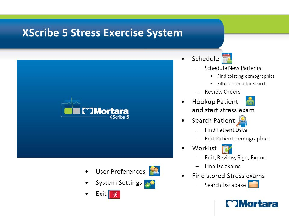 XScribe 5 Stress Exercise System