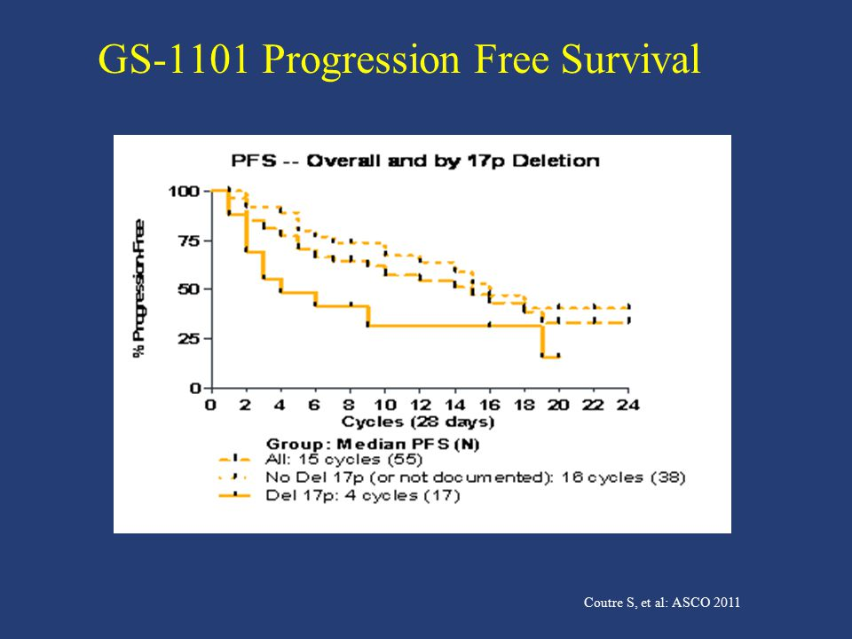 GS-1101 Progression Free Survival