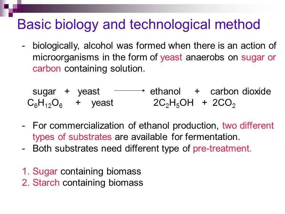 Basic biology and technological method