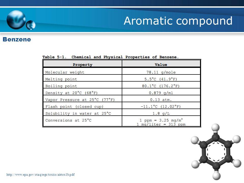 Aromatic compound Benzene