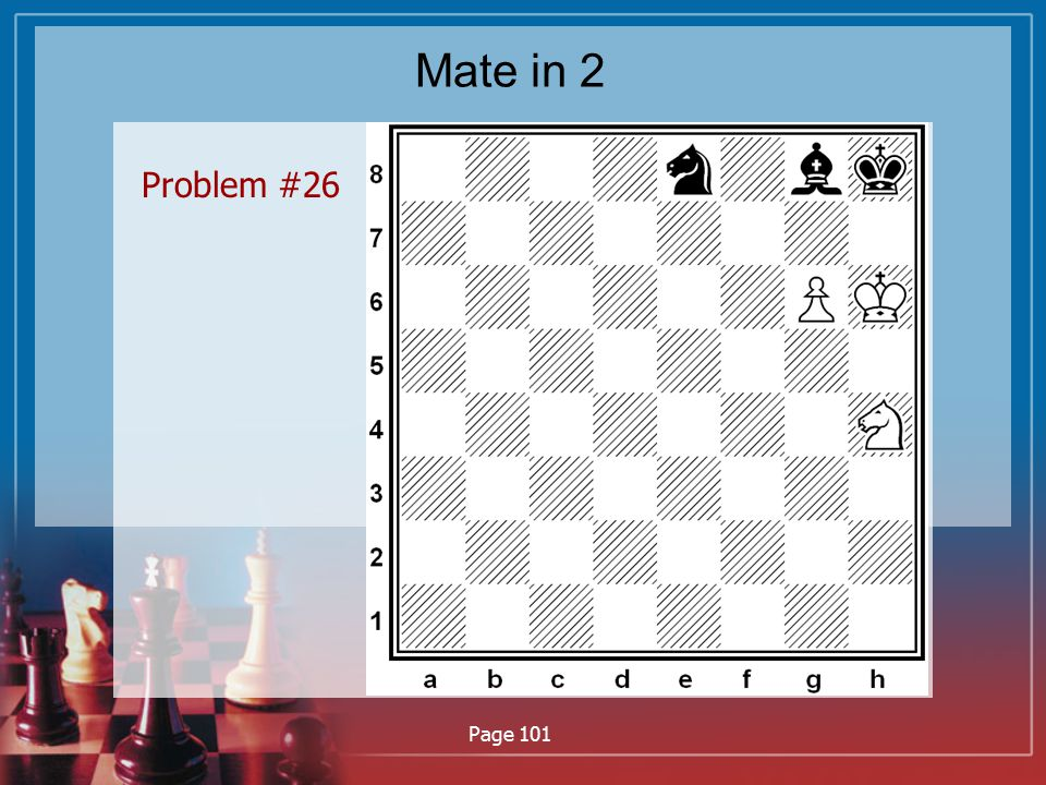 Mate in 2 Problem #26