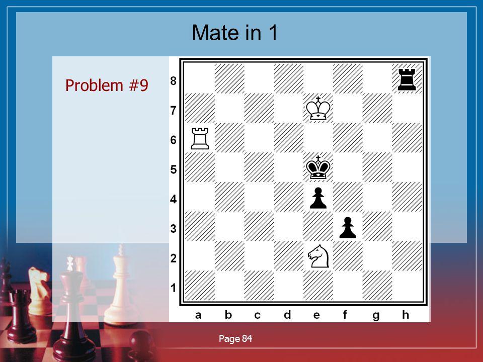 Mate in 1 Problem #9